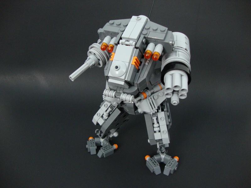 Lego MOC Battle Mech