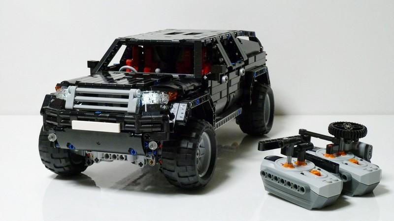 Lego Technic SUV Mk2 MOC