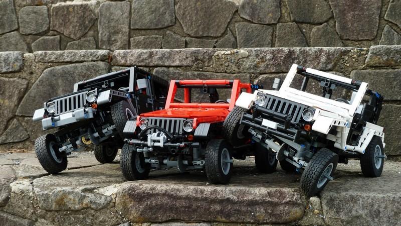 Lego Technic — Jeep Wrangler MOC