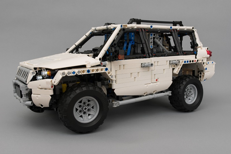 Lego Technic RC Off-roader With SBrick
