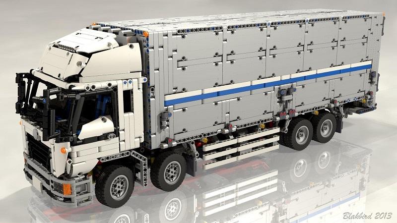 LEGO Technic Wing Body Truck MOC