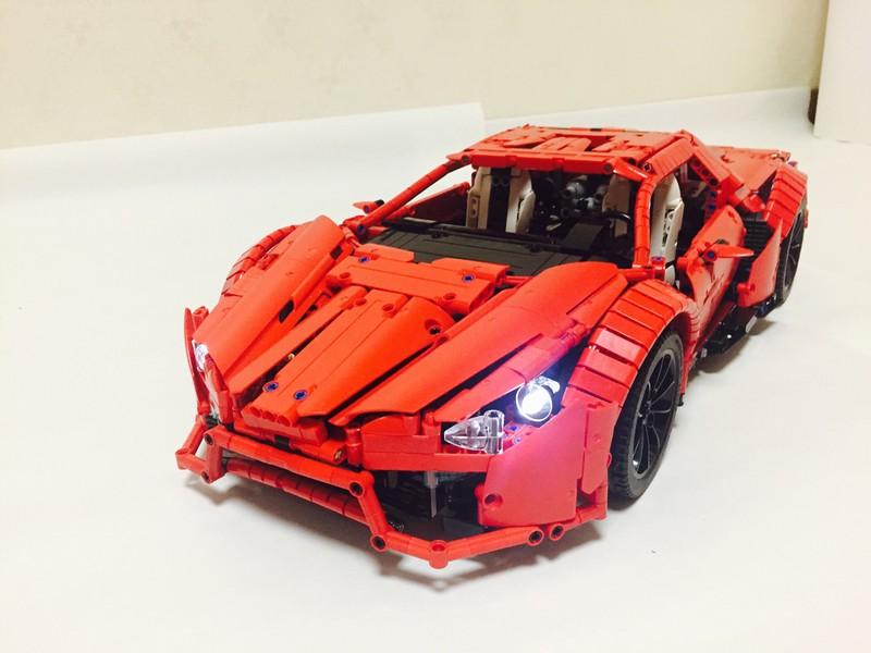 Lego Technic — Lykan Hypersport MOC
