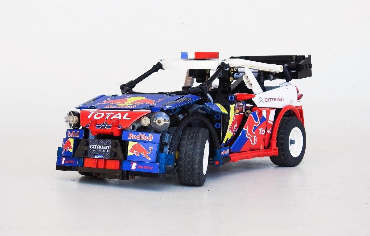 Lego Technic — Sébastien Loeb's Citroën DS3 WRC