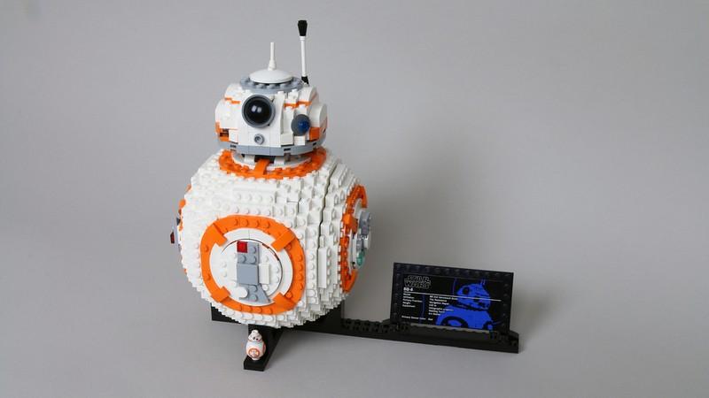 Lego custom BB-8 Star Wars RC