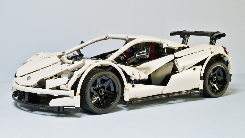 Lego technic — Icarus Super Car MOC with Sbrick