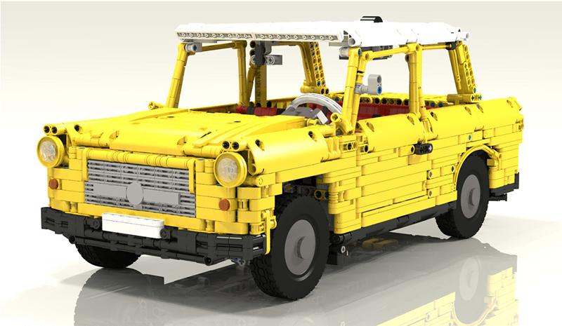 Lego MOC M1991 — Trabant 601