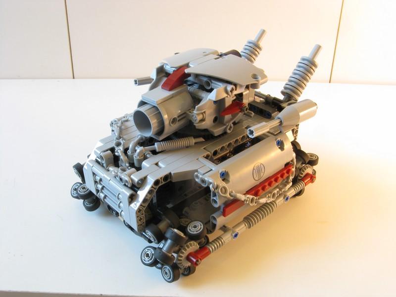 Lego Technic Metal Grudge