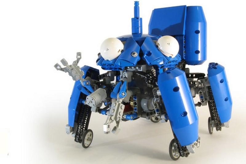 Lego technic Mororized Tachikoma MOC