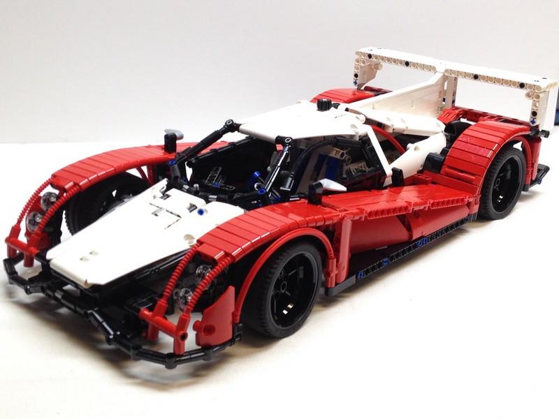 LEGO Technic Le Mans Prototype 1 Race Car