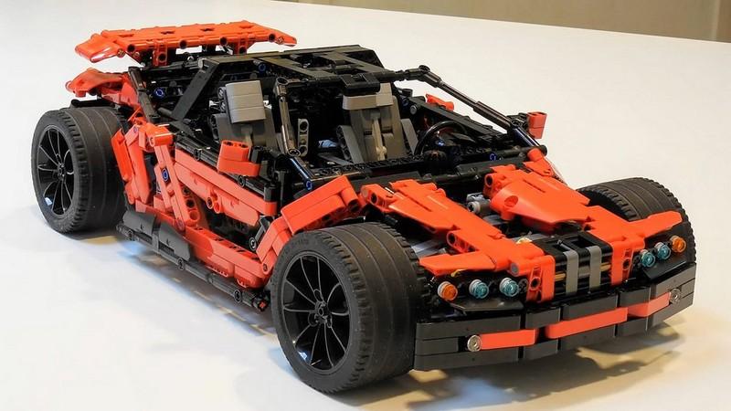 Lego Technic Rugget Supercar MOC