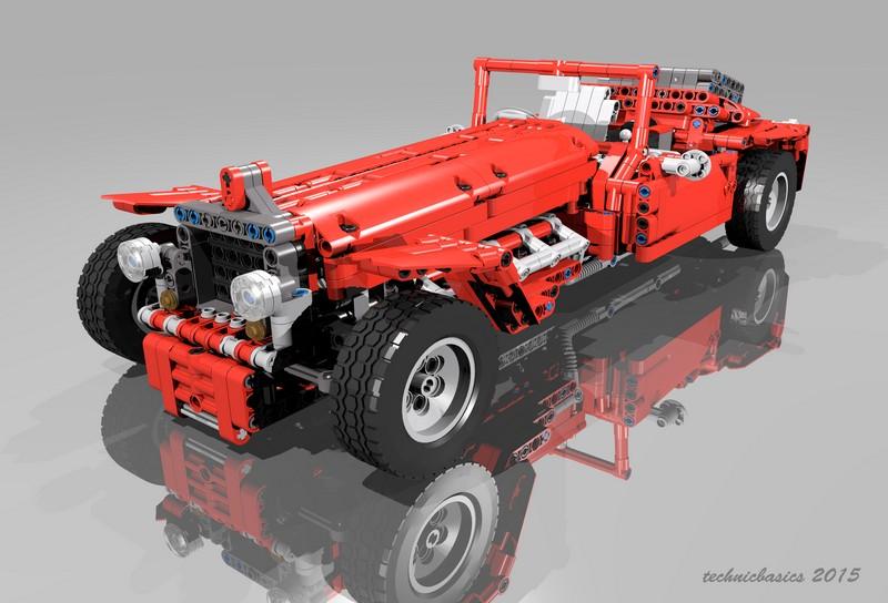 Lego Technic Classics Car TE009