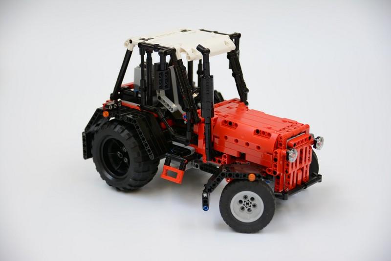 Lego Technic Farm Tractor — MOC