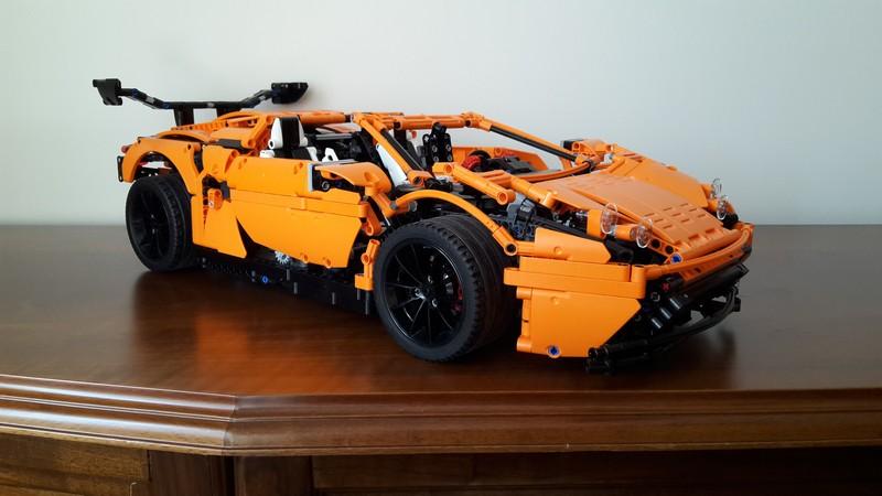 Lego Technic Dragking supercar MOC