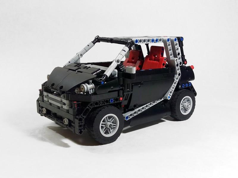 Lego Technic Smart Fortwo MOC