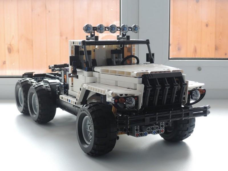 Lego Technic truck 6×6 MOC