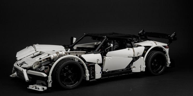Lego Technic Volcano RS Supercar MOC