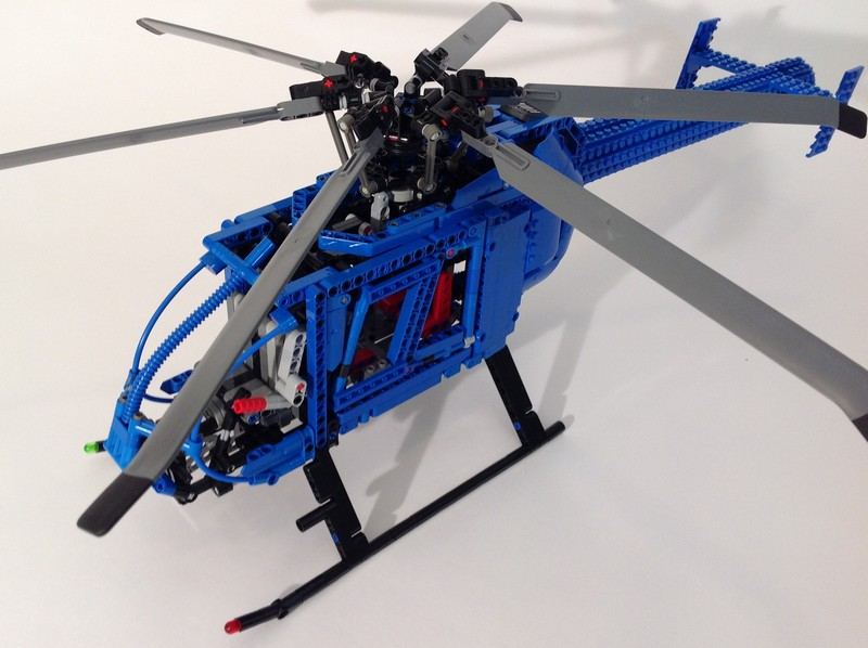 Lego Technic helicopter MD600N MOC