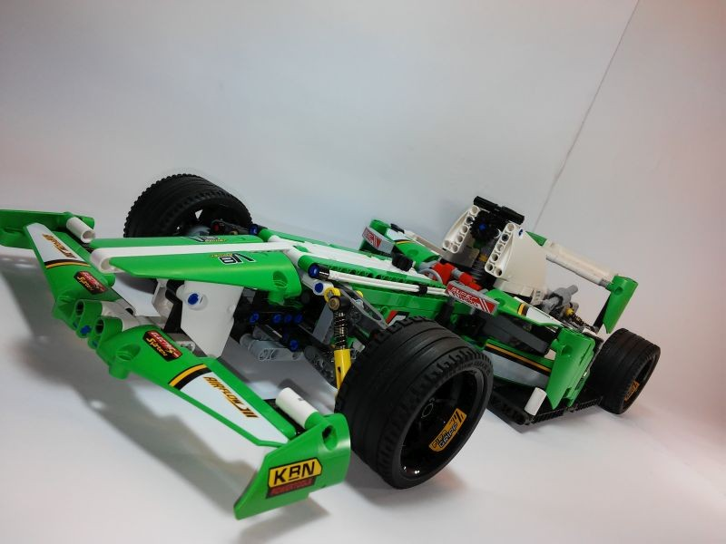Lego Technic — Grand Prix Racer MOC