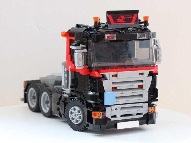 Lego — Scania R 6×4 MOC