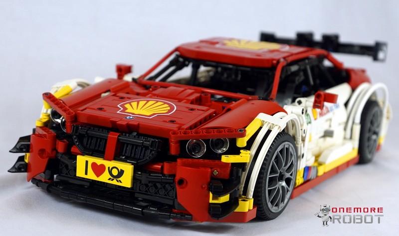 Lego Technic Moc Bmw Dtm M4 Shell Rc I Bricksru