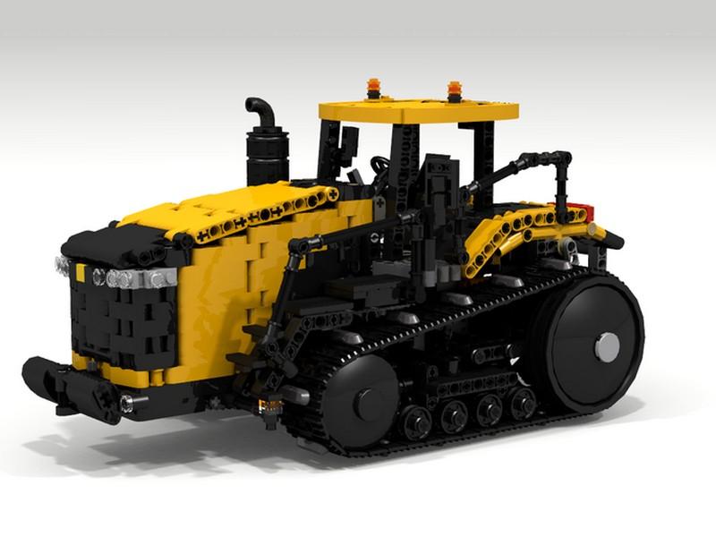 Lego Technic Challenger MT800E MOC