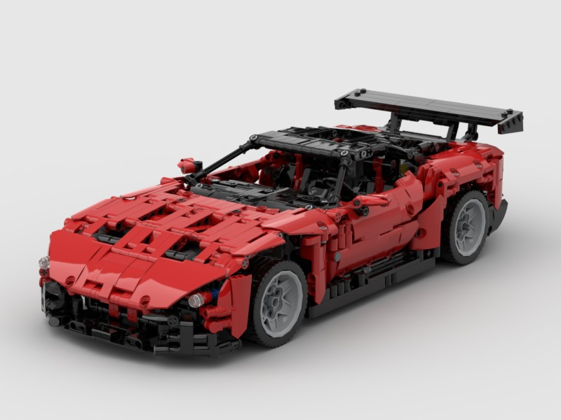 lego technic aston martin vulcan i. Black Bedroom Furniture Sets. Home Design Ideas