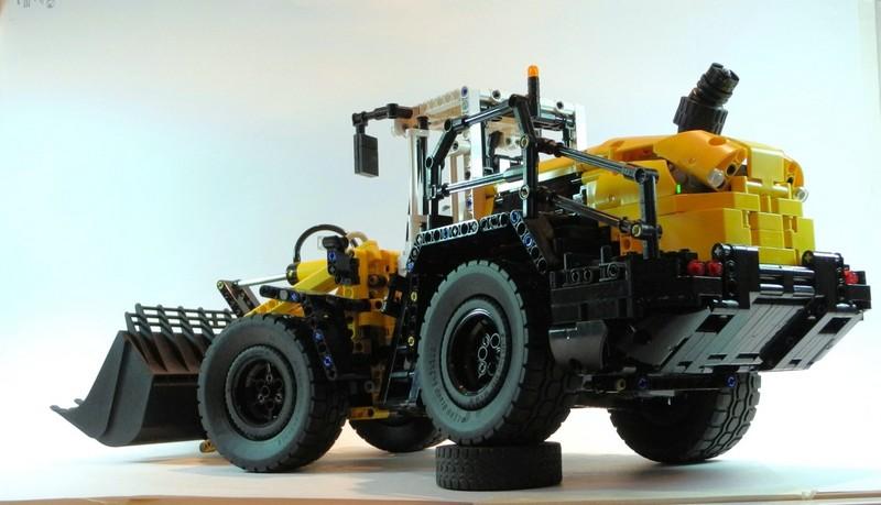 Lego Technic Liebherr L550