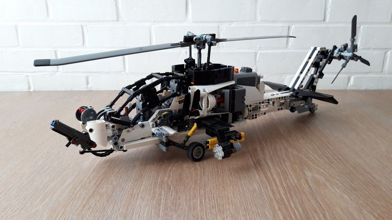 Lego Technic AH-77 Hunter helicopter