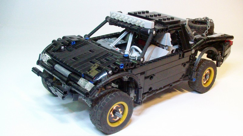 Lego Technic Baja trophy truck MOC