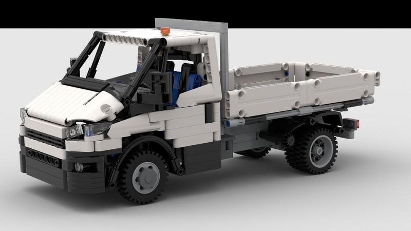 Lego Technic Iveco Daily Tipper