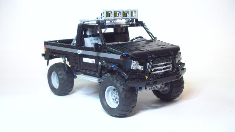 Lego Technic Black Mamba