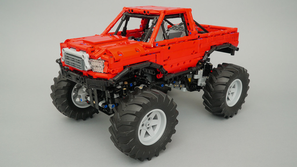 Lego Technic Monster Truck With Automated Differential Lock