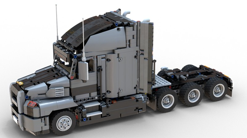 Lego Technic 42078 Mack Anthem Tri-Drive MOD