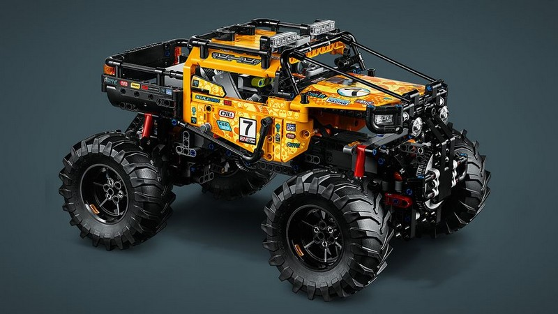 Lego Technic 4×4 X-treme Off-Roader (42099) PF base