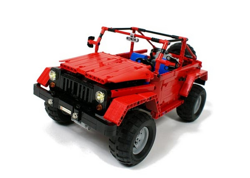 Lego Technic Jeep Rubicon Sariel's
