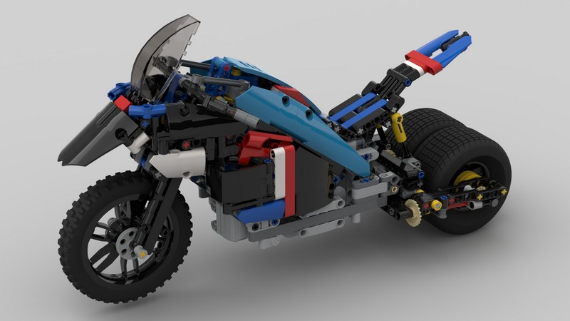 Lego technic Monster Bike RC