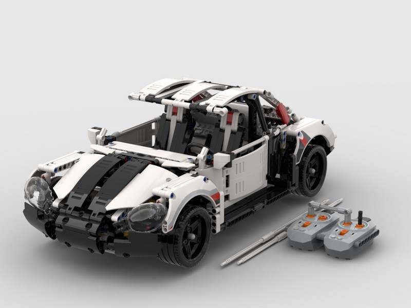 Lego Technic 42096 B Model VW New Beetle 1997 — RC