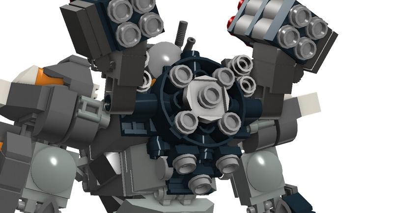 Lego MOC MAT-01 (Механизированный бронетранспортер) Achilles