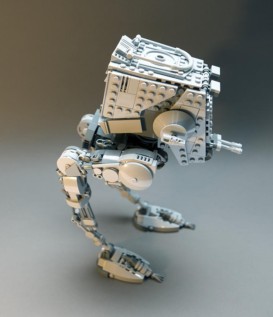 Lego MOC Star Wars AT-ST. Version 2.1