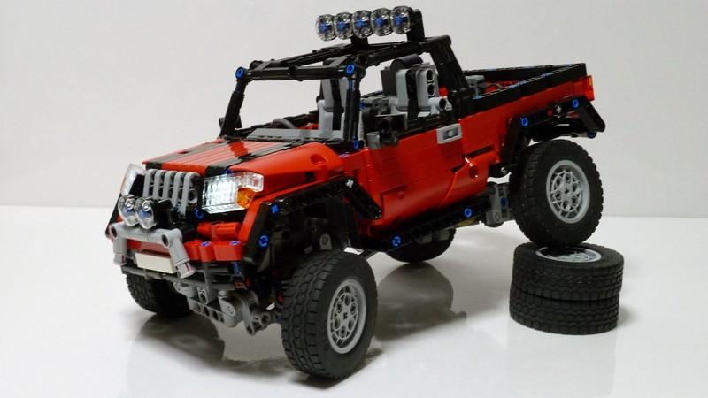 LEGO Technic AWD Pickup Truck