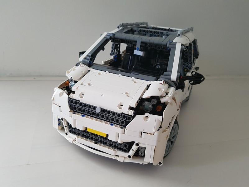 Lego Technic 7-Seater Family Car MOC