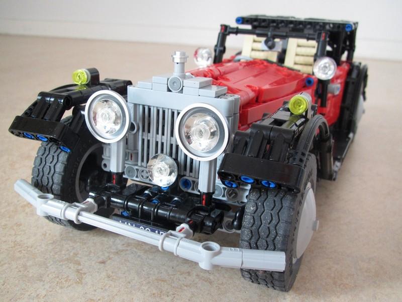 Lego Technic Rolls-Royce Phantom II Coupe MOC