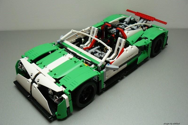 Lego Technic 42039 E Modell – Sport car – THE SPAWN
