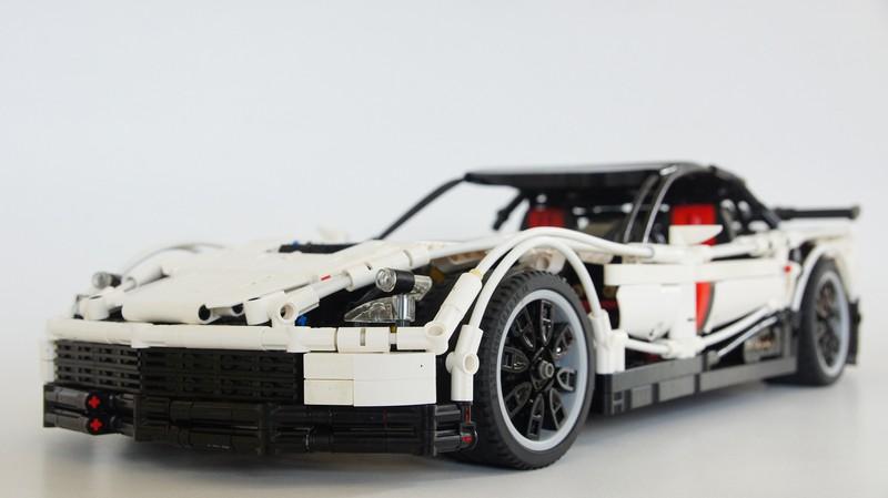 Lego Technic RC Chevrolet Corvette Z06 MOC