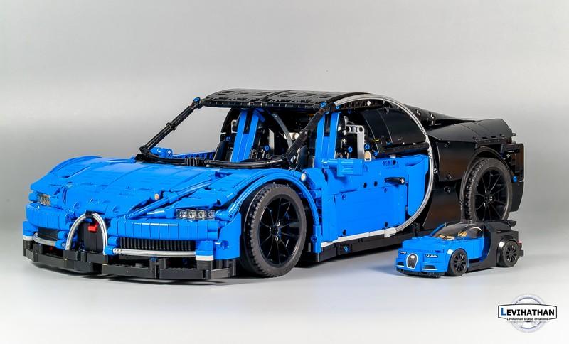 Lego Technic Bugatti Chiron   i-bricks.ru