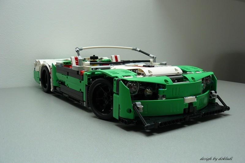 Lego Technic 42039 D Modell – Cabriolet – Winter Killer