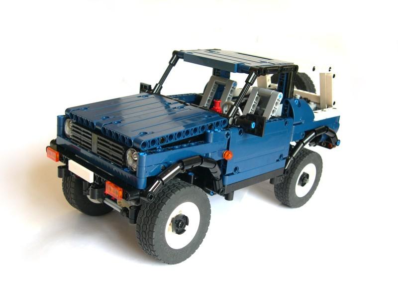 Lego Technic Suzuki Samurai 4×4