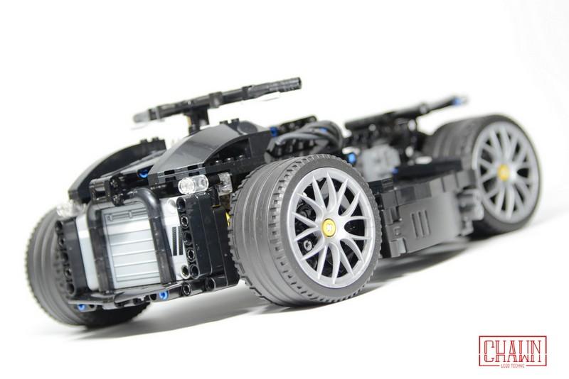 Lego Technic Lazareth Wazuma V8F