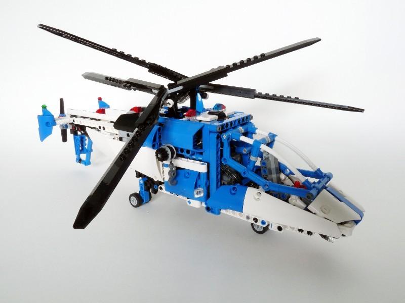 Lego Technic Police Helicopter Manta MOC