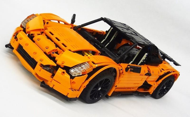 Lego Technic Scorpion CK-R Supercar MOC